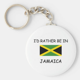 I'd rather be in Jamaica Keychain