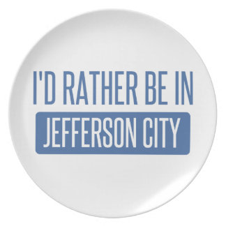 I'd rather be in Jefferson City Plates