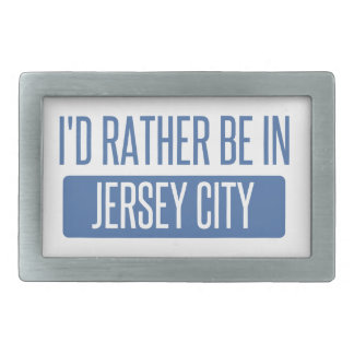 I'd rather be in Jersey City Belt Buckles