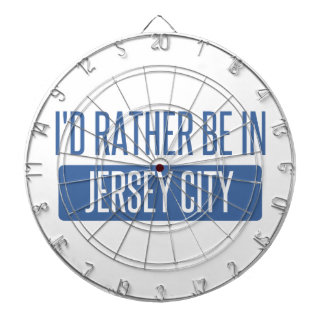 I'd rather be in Jersey City Dartboard