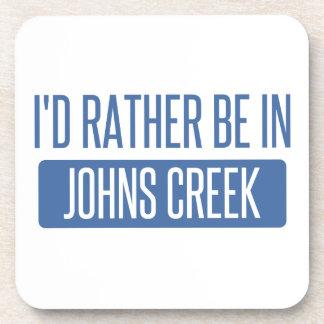 I'd rather be in Johns Creek Beverage Coaster