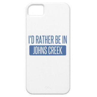 I'd rather be in Johns Creek iPhone 5 Cover