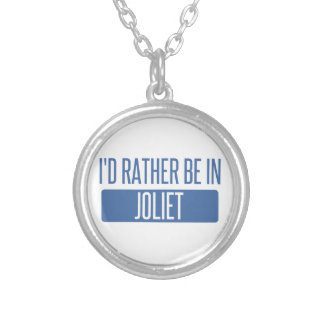 I'd rather be in Joliet Silver Plated Necklace