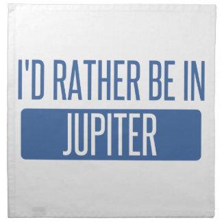 I'd rather be in Jupiter Napkin