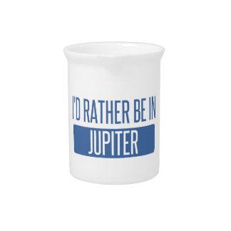 I'd rather be in Jupiter Pitcher