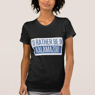 I'd rather be in Kalamazoo T-Shirt
