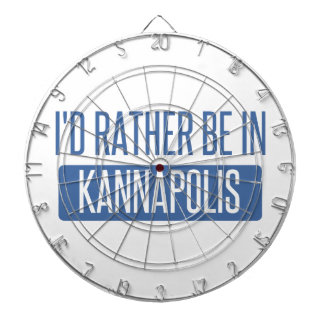 I'd rather be in Kannapolis Dartboard