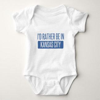 I'd rather be in Kansas City KS Baby Bodysuit