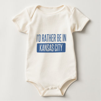 I'd rather be in Kansas City MO Baby Bodysuit