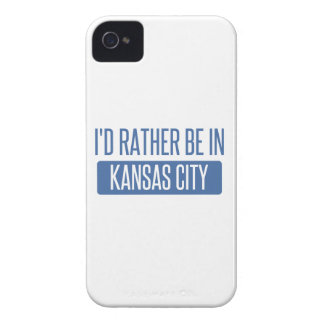 I'd rather be in Kansas City MO iPhone 4 Case