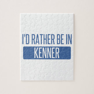 I'd rather be in Kenner Jigsaw Puzzle