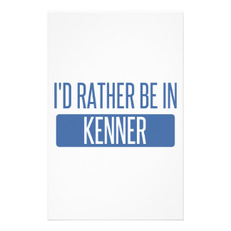 I'd rather be in Kenner Stationery