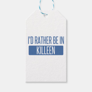 I'd rather be in Killeen Gift Tags