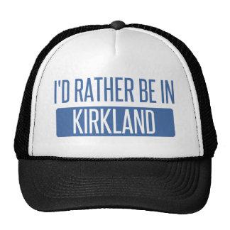 I'd rather be in Kirkland Trucker Hat