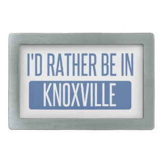 I'd rather be in Knoxville Belt Buckles