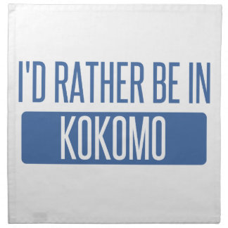 I'd rather be in Kokomo Napkin