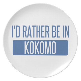 I'd rather be in Kokomo Plate