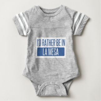 I'd rather be in La Mesa Baby Bodysuit