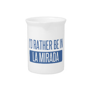 I'd rather be in La Mesa Drink Pitcher