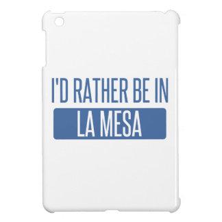I'd rather be in La Mesa iPad Mini Cases