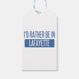 I'd rather be in Lafayette IN Pack Of Gift Tags