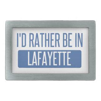 I'd rather be in Lafayette LA Belt Buckles