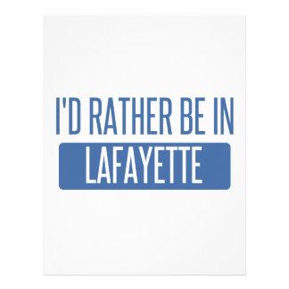I'd rather be in Lafayette LA Letterhead