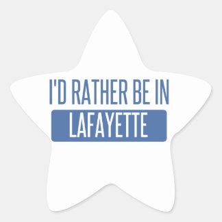 I'd rather be in Lafayette LA Star Sticker