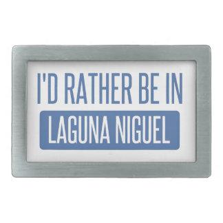 I'd rather be in Laguna Niguel Rectangular Belt Buckles
