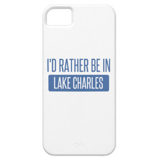 I'd rather be in Lake Charles iPhone 5 Case