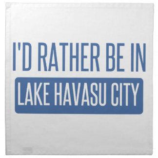 I'd rather be in Lake Havasu City Napkins