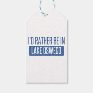I'd rather be in Lake Oswego Gift Tags