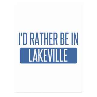 I'd rather be in Lakeville Postcard