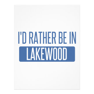I'd rather be in Lakewood OH Letterhead