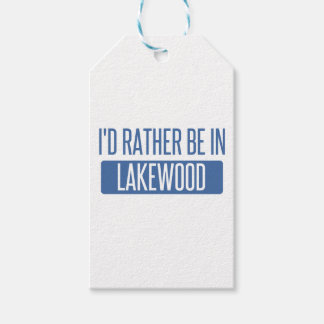 I'd rather be in Lakewood OH Pack Of Gift Tags