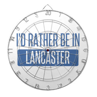 I'd rather be in Lancaster TX Dartboard