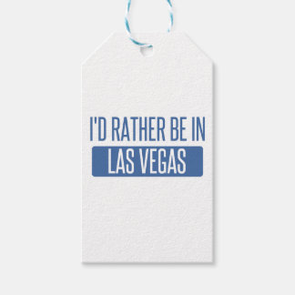 I'd rather be in Las Vegas Gift Tags