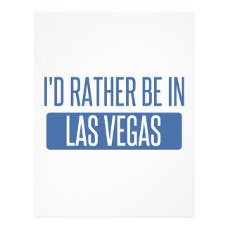 I'd rather be in Las Vegas Letterhead