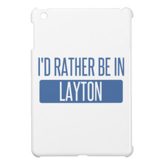 I'd rather be in Layton iPad Mini Covers