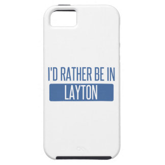 I'd rather be in Layton iPhone 5 Cases