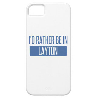 I'd rather be in Layton iPhone 5 Covers