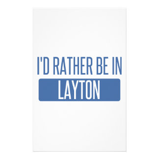 I'd rather be in Layton Stationery