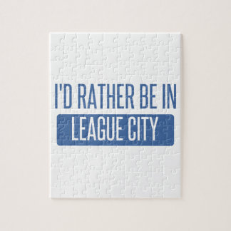 I'd rather be in League City Puzzles