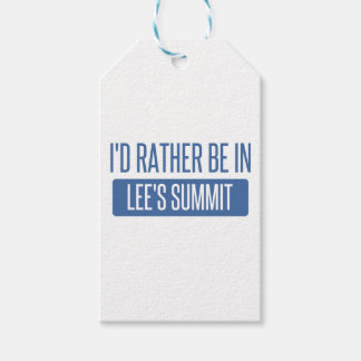 I'd rather be in Lee's Summit Gift Tags