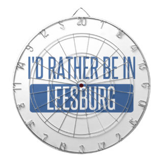 I'd rather be in Leesburg Dartboard