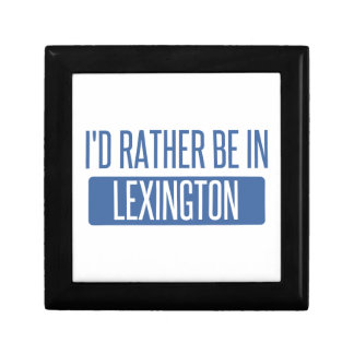 I'd rather be in Lexington Gift Box