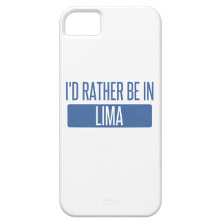 I'd rather be in Lima iPhone 5 Case