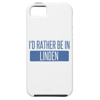 I'd rather be in Linden iPhone 5 Cases