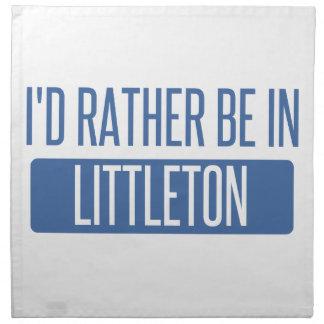 I'd rather be in Littleton Cloth Napkins
