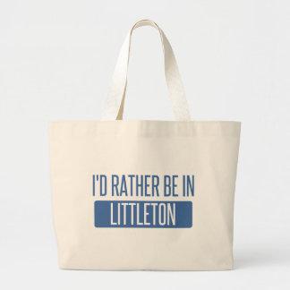 I'd rather be in Littleton Large Tote Bag